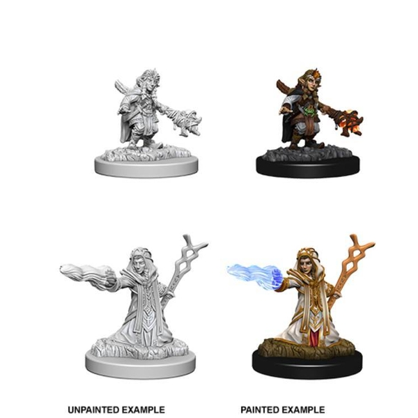 Dungeons & Dragons Nolzur's Marvelous Unpainted Miniatures Female Gnome Wizard
