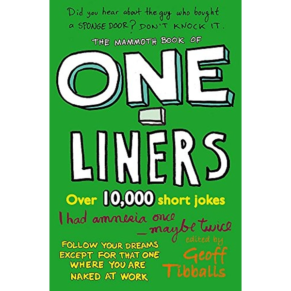 The Mammoth Book of One-Liners by Geoff Tibballs (Paperback, 2006)