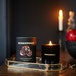 Black Pomegranate (Wonderwick) Noir Glass Country Candle - Image 3