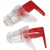 SwimTech Ear Plugs Red/Clear