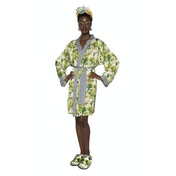 Frida Kahlo Bonito Satin style Ladies Robe