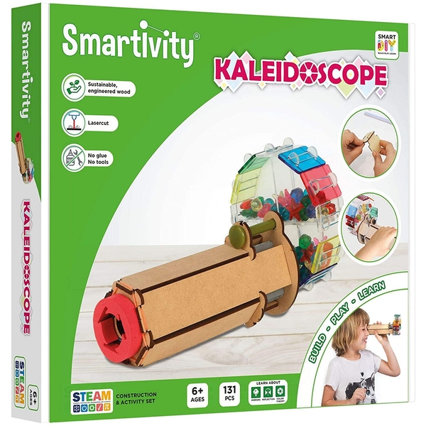 Smartivity Fantastic Optics Kaleidoscope Construction Set