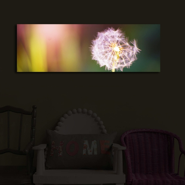 3090?ACT-48 Multicolor Decorative Led Lighted Canvas Painting