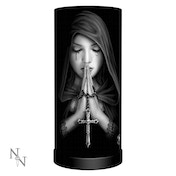 Gothic Prayer Lamp UK Plug