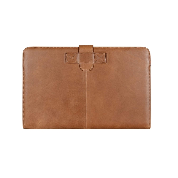 Decoded - D4MA11SC1BN - Apple Macbook Air 11 inch Leather Envelope Vintage Slim in Brown