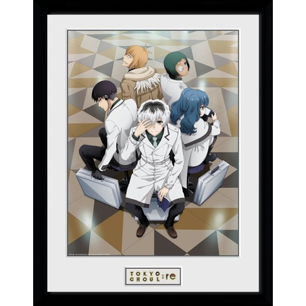 Tokyo Ghoul: RE Quinx Squad Framed Collector Print