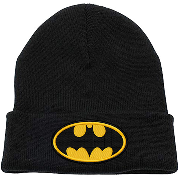 Batman - Logo Beanie - Black (One size)