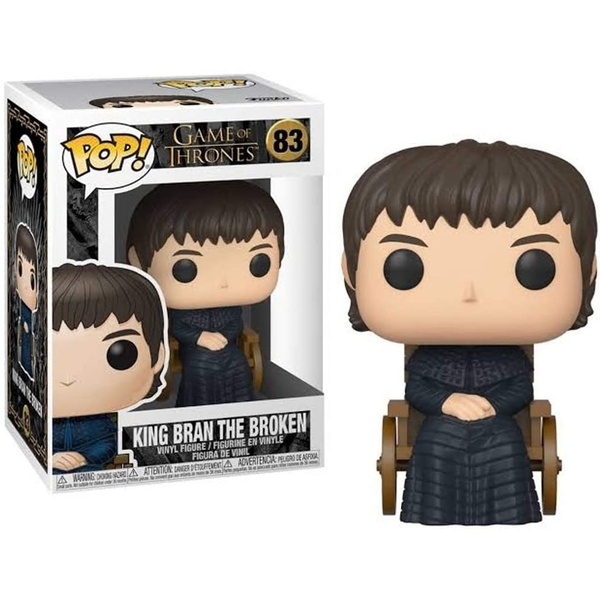 King Bran the Broken (Game of Thrones) Funko Pop! Vinyl Figure #83