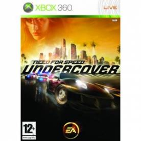 Need For Speed Undercover Game Xbox 360