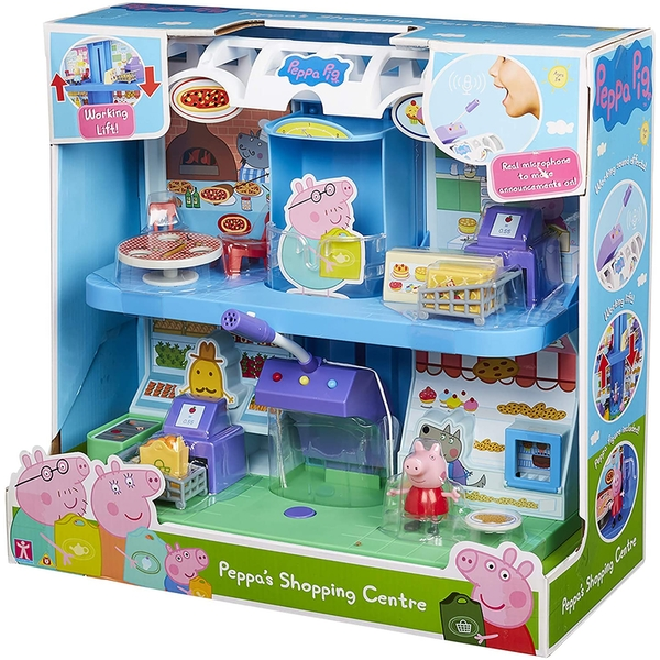 Peppa Pig - Peppa's Shopping Centre Playset