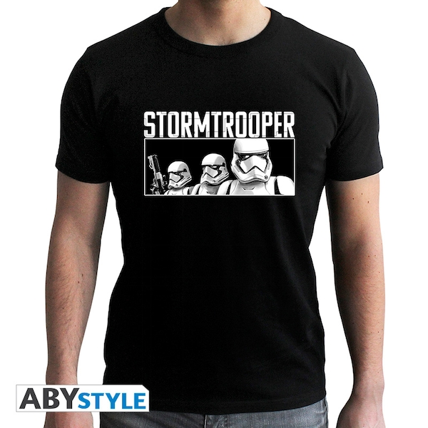 Star Wars - Troopers E9 Men'S Small T-Shirt - Black