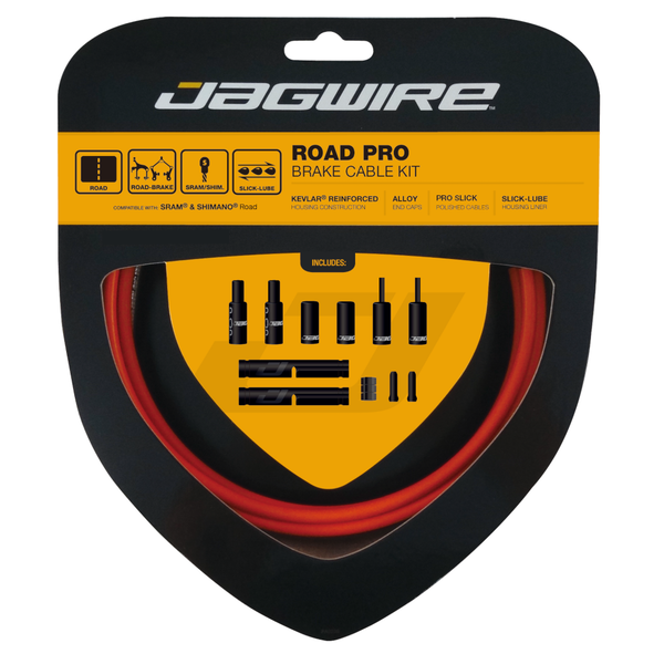 Jagwire Road Pro Brake Kit Orange