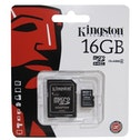 Kingston 16GB Micro SDHC Class 4 Flash Card With Adapter