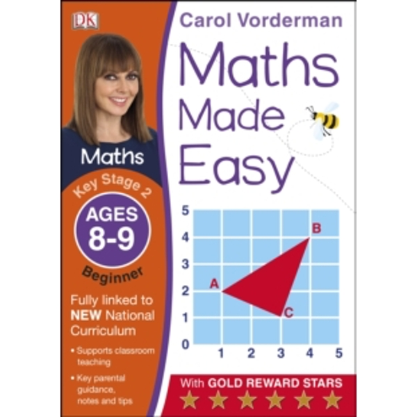 Maths Made Easy Ages 8-9 Key Stage 2 Beginner by Carol Vorderman (Paperback, 2014)