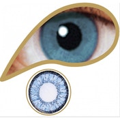 Blue 1 Day Coloured Contact Lenses (MesmerEyez Illusionz)