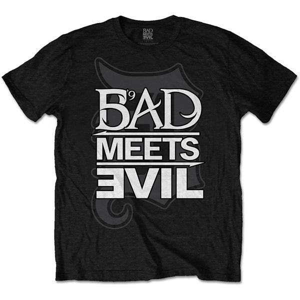 Bad Meets Evil - Logo Men's X-Large T-Shirt - Black
