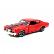 Dom's 1970 Chevelle Red (Fast&Furious) Jada Diecast Model 1:32