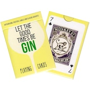 Gin Collectors Playing Cards