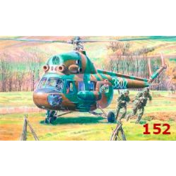 1:72 Mi-2T Commandos Transport Model Kit