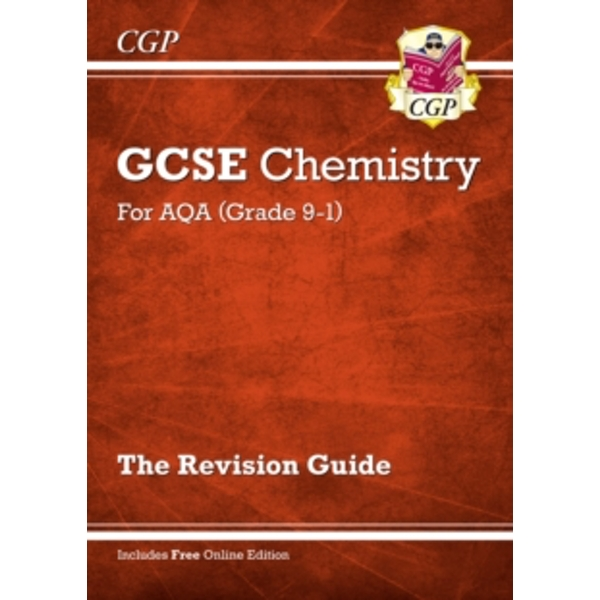 New Grade 9-1 GCSE Chemistry: AQA Revision Guide with Online Edition by CGP Books (Paperback, 2016)