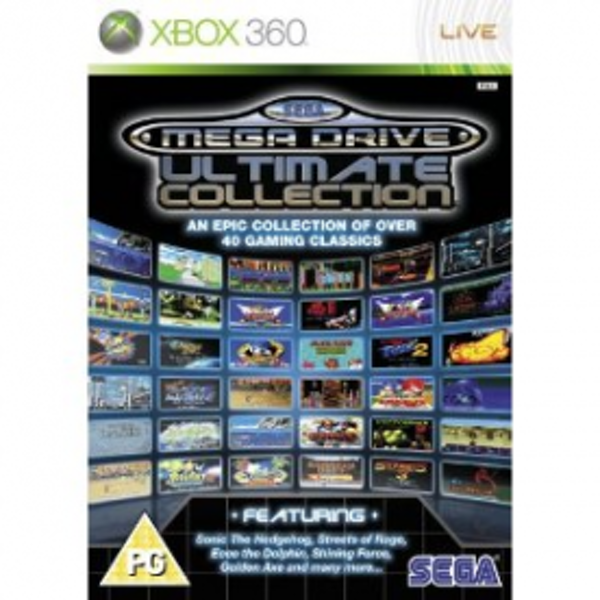 SEGA Mega Drive Ultimate Collection Game Xbox 360