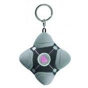 Portal 2 Weighted Compansion Cube Plush Key Chain