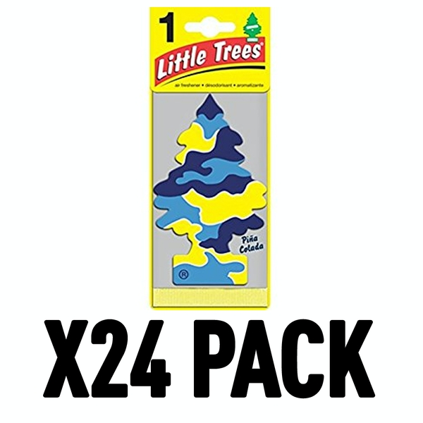 Pina Colada (Pack Of 24) Little Trees Air Freshener