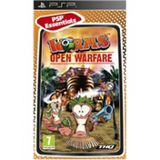 Worms Open Warfare Essentials Game PSP