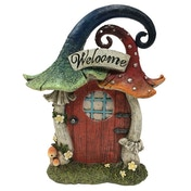 Mushroom Welcome Fairy Ornament