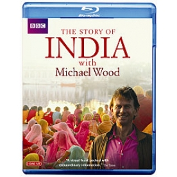 The Story of India with Michael Wood Blu Ray