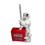 Coca Cola Polar Bears & Ice Box Christmas Tree Decoration