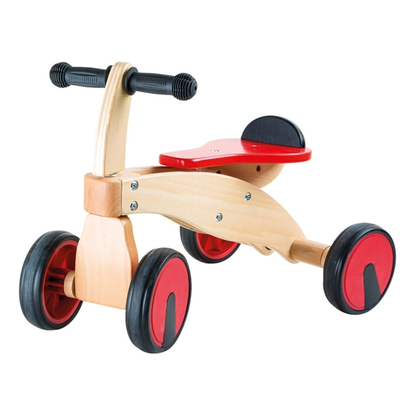Legler - Small Foot Red Racer Ride-on Wooden Kid's Toy Multi-colour