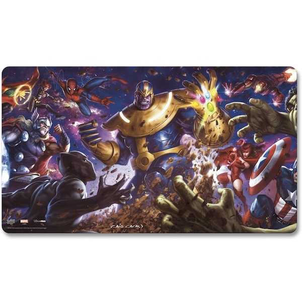 Marvel Card Playmat: Thanos