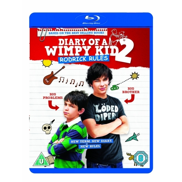 Diary of a Wimpy Kid 2 Rodrick Rules Blu-ray