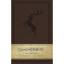 House Baratheon (Game of Thrones) Hardcover Ruled Journal