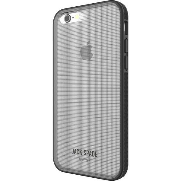 Jack Spade Printed Graph Check/Clear Phone Case For iPhone 7/8