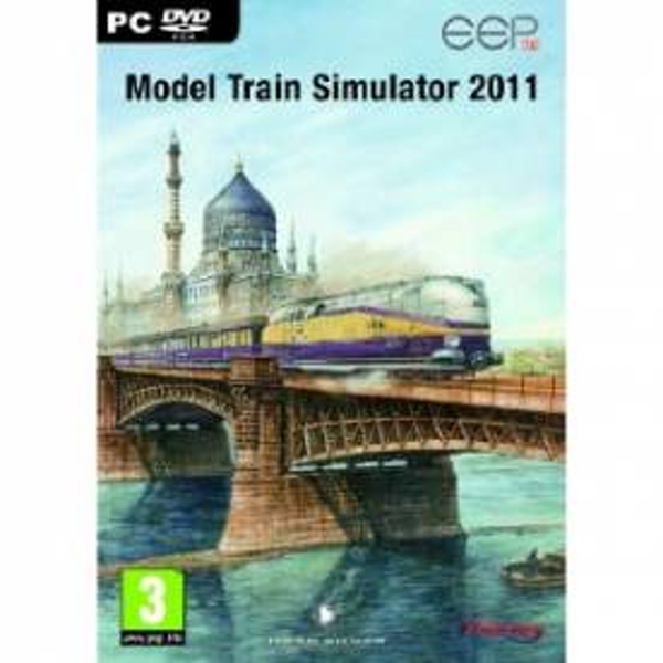 Model Train Simulator 2011 Game PC
