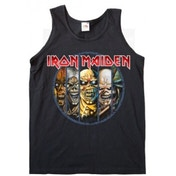 Iron Maiden Evolution Black Ladies Vest T Shirt: Large