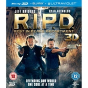 R.I.P.D. Rest in Peace Department 2D Blu-ray & 3D Blu-ray & UV