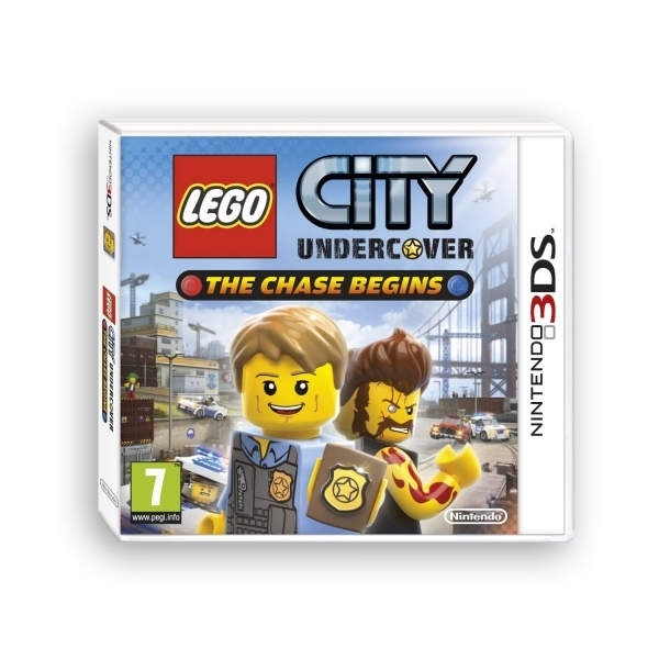 Lego City Undercover The Chase Begins Game 3DS