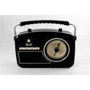 GPO Rydell Vintage Four Band Radio Black