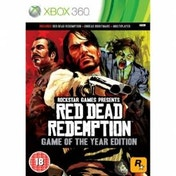 Red Dead Redemption Game Of The Year Edition (GOTY) Xbox 360