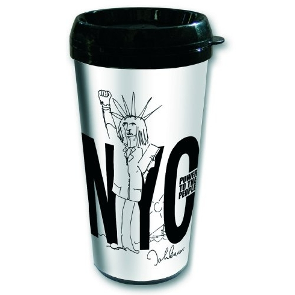 John Lennon - Power to the People Travel Mug