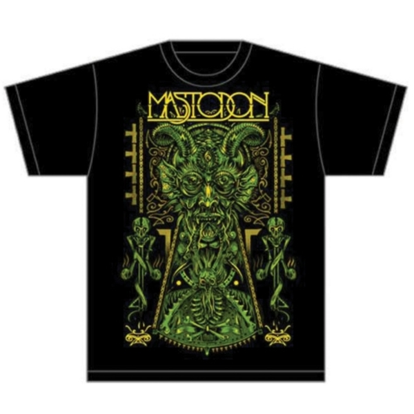 Mastodon - Devil on Black Unisex Small T-Shirt - Black