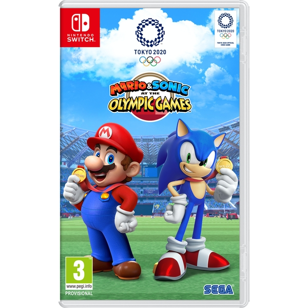 Mario Sonic At The Olympic Games Tokyo 2020 Nintendo Switch Game Shop4megastore Com