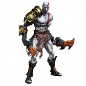 God Of War III Play Arts Kai Kratos Figurine Statue