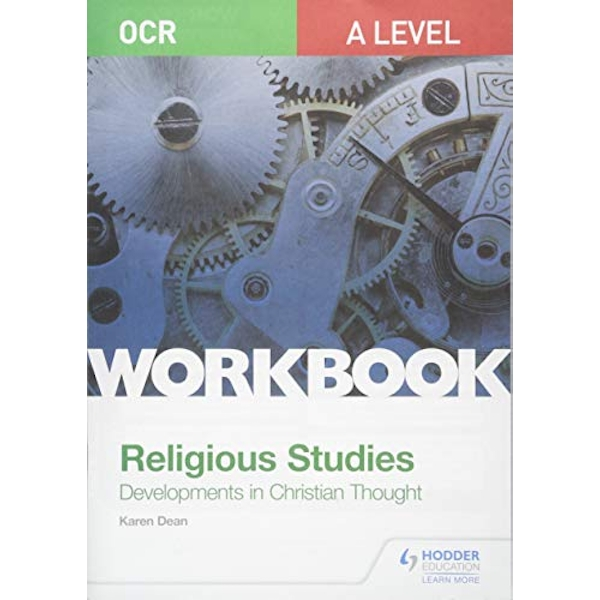 OCR A Level Religious Studies: Developments in Christian Thought Workbook  Paperback / softback 2019