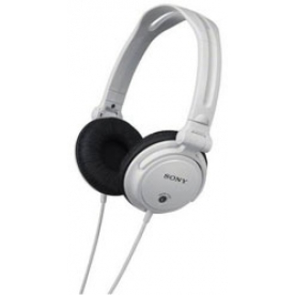 Sony MDRV150WMonitoring Headphones with Reversible Ear Cups White
