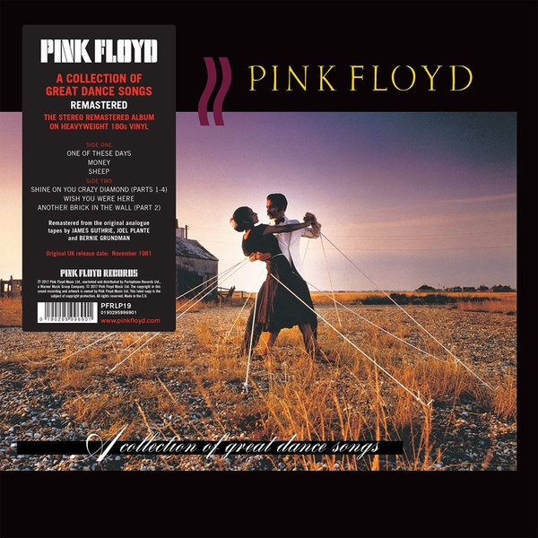 Pink Floyd - A Collection Of Great Dance Songs Vinyl
