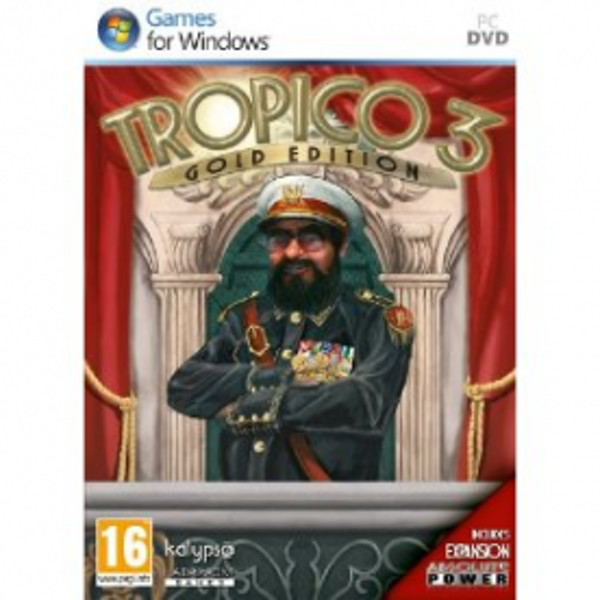 Tropico 3 III Gold Edition Game PC
